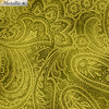Radiant Paisley - Green / Gold