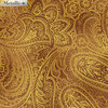 Radiant Paisley - Saddle / Gold