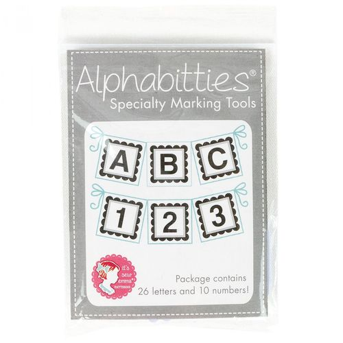 Alphabitties grau