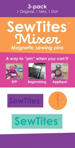 Sew Tites Mixer - Magnetic sewing pins (3-er Pack)