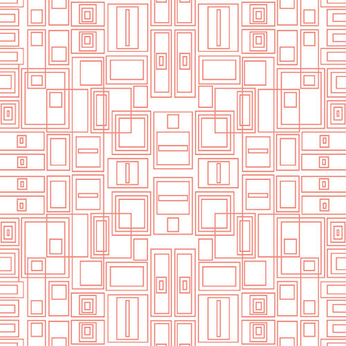 Good Vibes - Circuit Board Coral / White - 1639-21