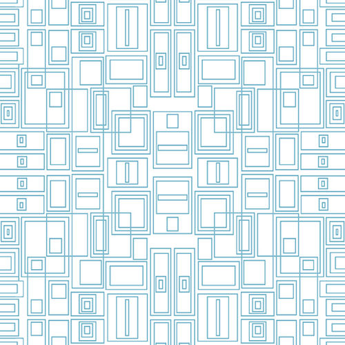 Good Vibes - Circuit Board Turquoise / White - 1639-83
