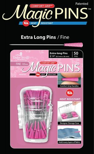 Magic Pins - Extra long / Fine - 50 Stück
