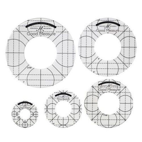 Amanda Murphy Good Measure - LOW SHANK - Circle Template (5 Teile)