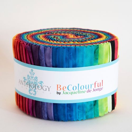 "2,5"" Streifen Rolle - Be Colourful"