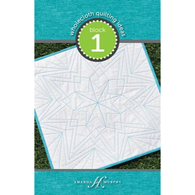 Wholecloth Quilting Ideas - Block 1