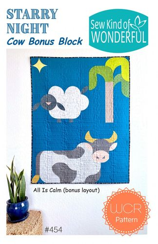 Bonus Block für Starry Night - Cow