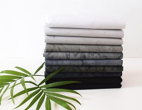 Fat Quarter Paket Lava Batiks - Nightfall